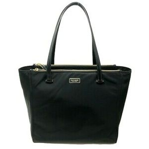 Kate Spade♠️New York Dawn, Black, Large Nylon Tote